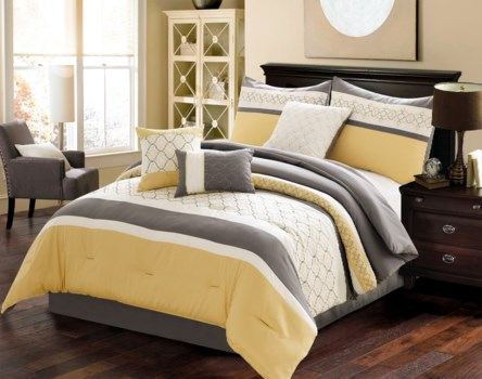 Vermont 7 pc Queen Comforter Set