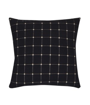 Geo Dots Navy Pillow