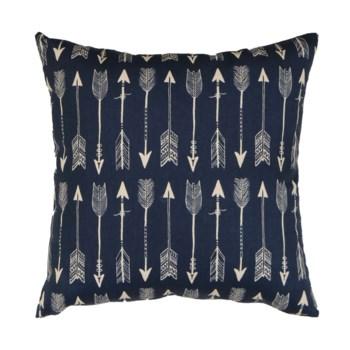 Arrows Pillow Blue 18x18