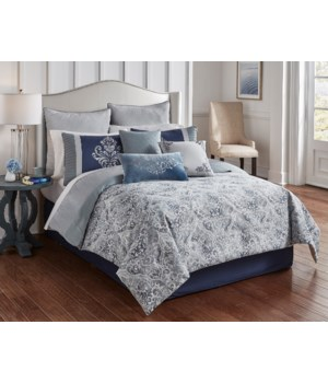 Charles 10 pc King Comforter Set