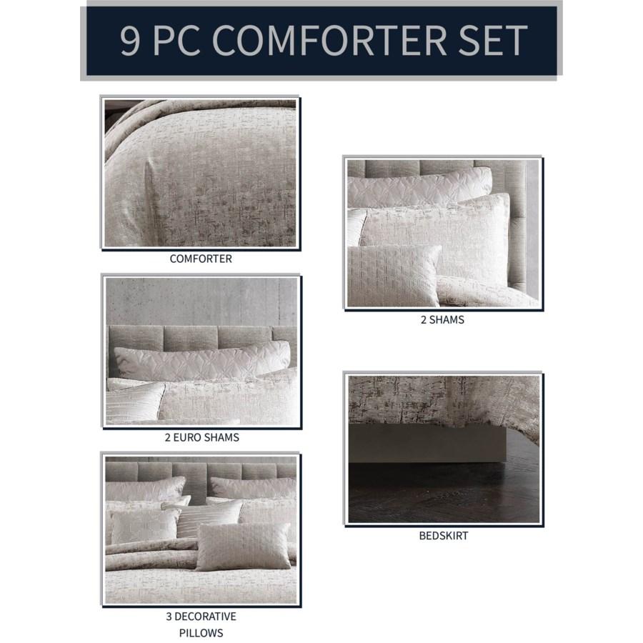 Gypsy 9PC Queen Comforter Set