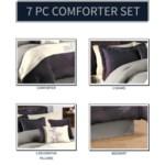 Glenberry 7pc Queen Comforter Set