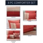 Jaylin 8pc Queen Comforter Set