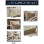 New Haven 9 pc Queen Comforter Set