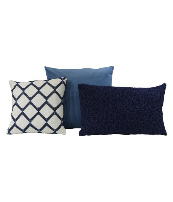 Andesite 3 pc Pillow Set