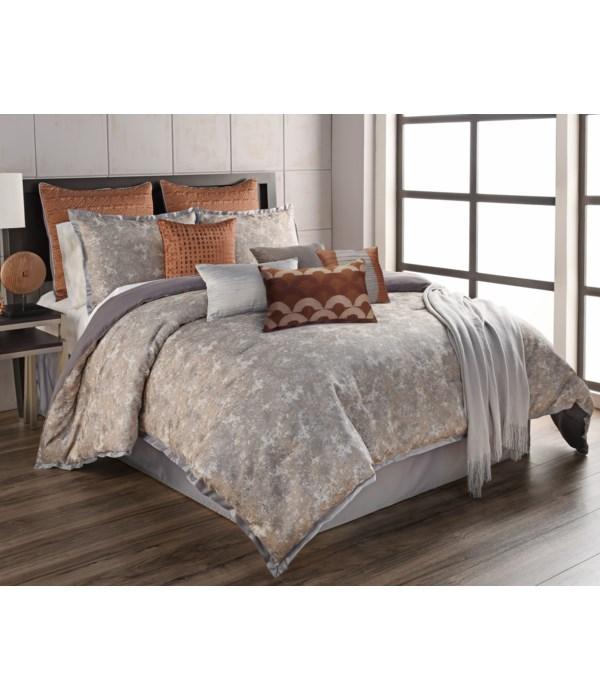 Anna 12 pc Queen Comforter Set