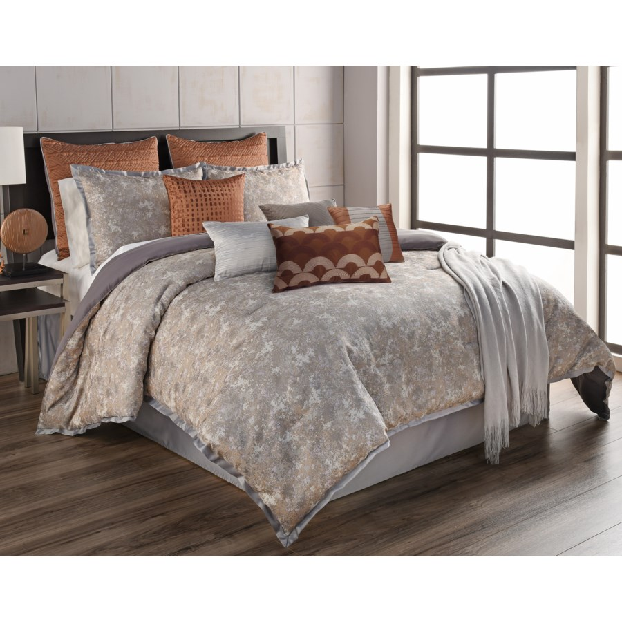 Anna 12 pc King Comforter Set