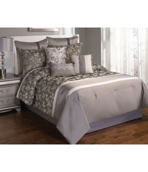 Augustus 9 pc Queen Comforter Set