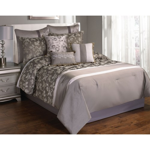 Augustus 10 pc King Comforter Set