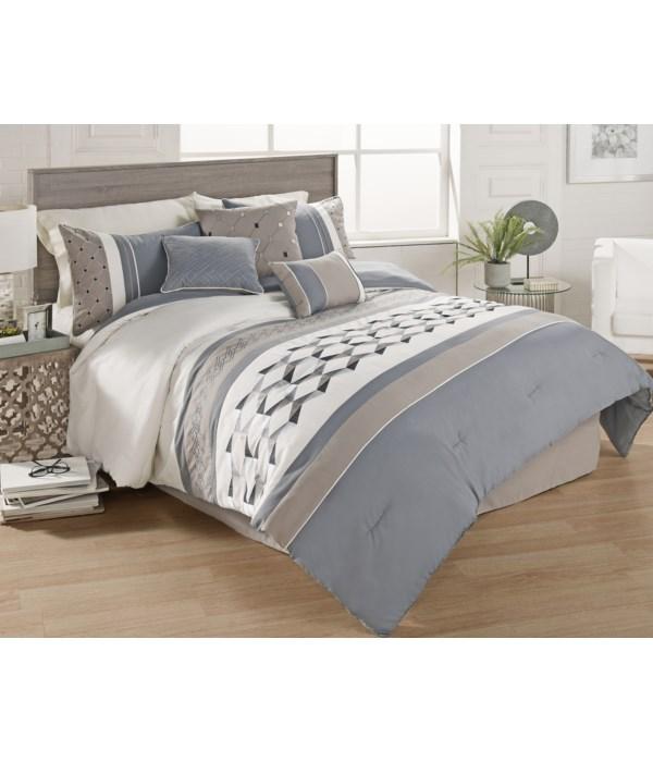 Bailey 7 PC Queen Comforter Set
