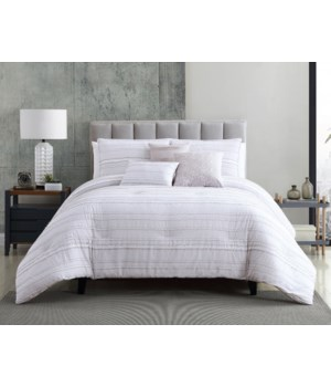 Bardot 6 pc Queen Comforter Set