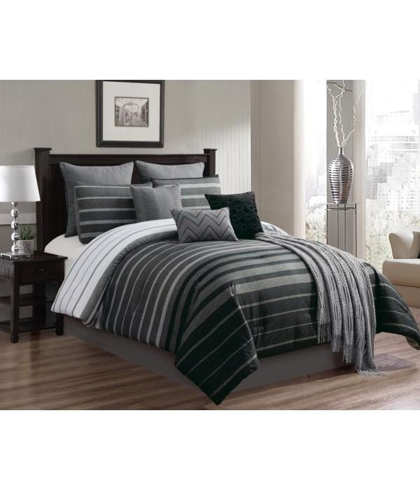 Brennan 10 PC Queen Comforter Set