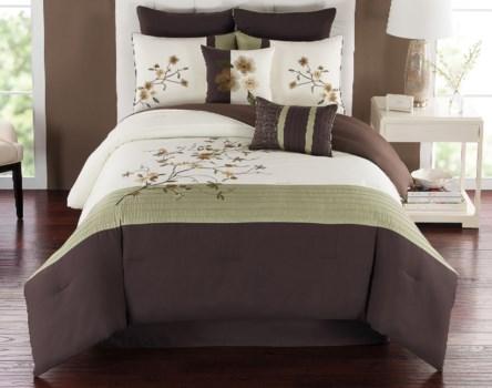 Catherine 8pc Queen Comforter Set