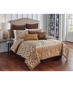 Claremont  9 pc Queen Comforter Set