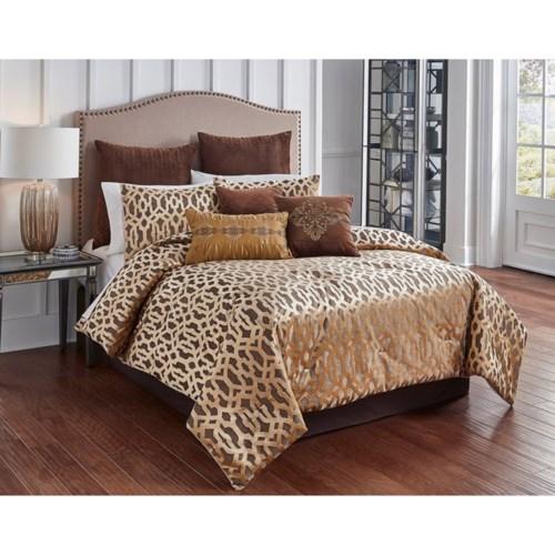 Claremont  9 pc Queen Comforter Set