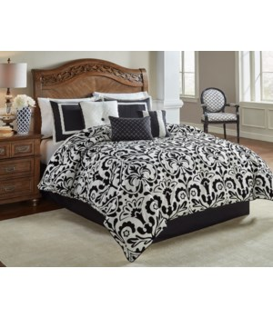 Concord Medallion 7pc Queen Comforter Set