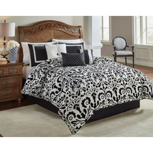 Concord Medallion 7pc King Comforter Set