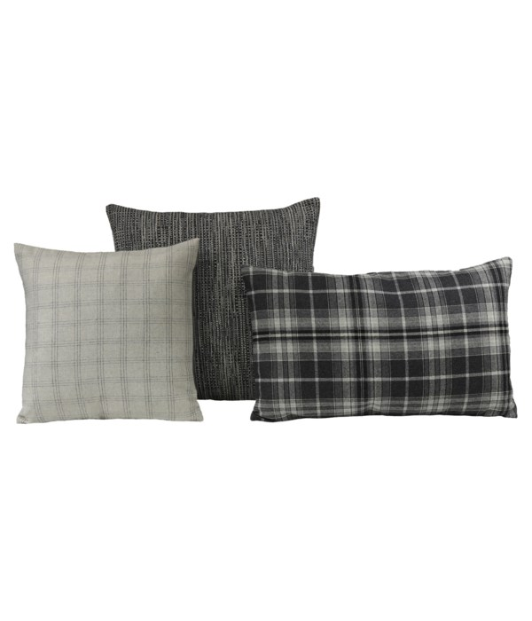 Dalion 3 pc Pillow Set