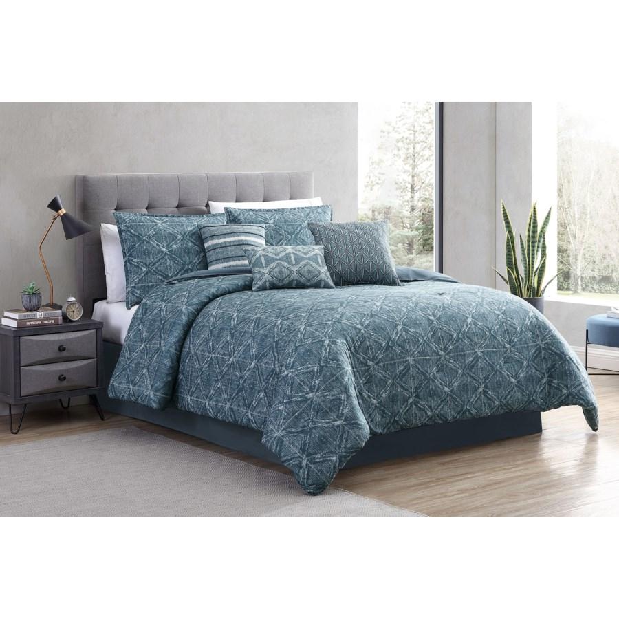 Damona 7 pc Queen Comforter Set