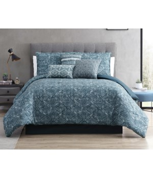 Damona 7 pc Queen Comforter Set