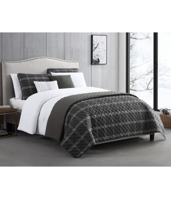 Dublin 8PC F/Q Comforter Set