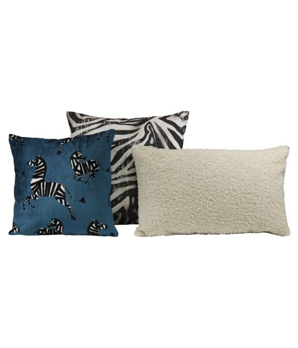 Equidae 3 pc Pillow Set