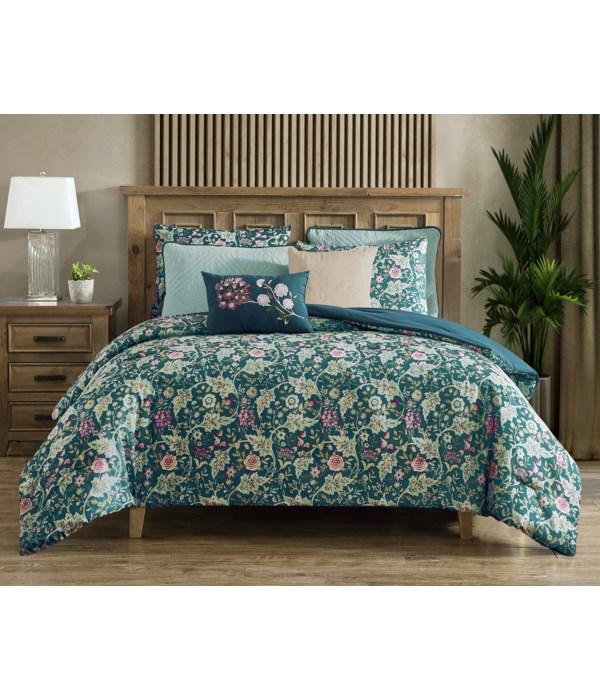 Fantasy Vines 8 pc Full/Queen Comforter Set