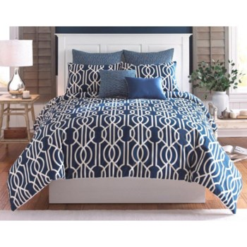 Fazio 6 pc Queen Comforter Set (Made In USA)