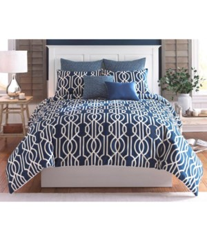 Fazio 6 pc Queen Comforter Set (Made In USA)