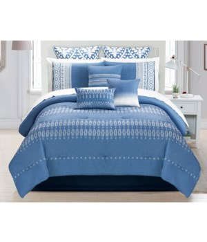 Flynn 10 PC King Comforter Set