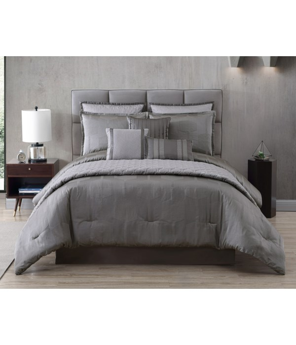 Garian 10 pc Queen Comforter Set
