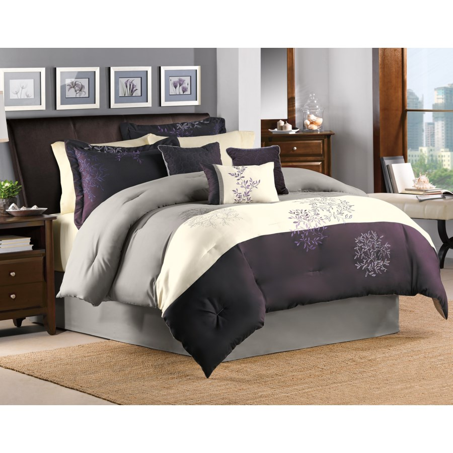 Glenberry 7pc Queen Comforter Set