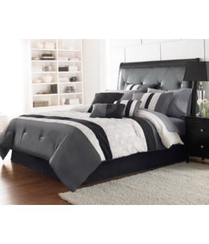 Hartford 7pc Queen Comforter Set