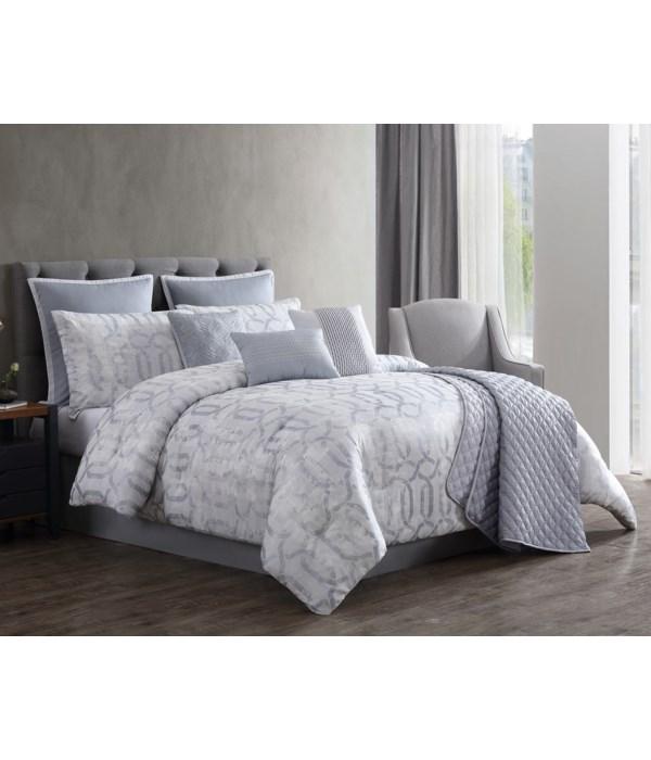Hoffman 10PC Queen Comforter Set