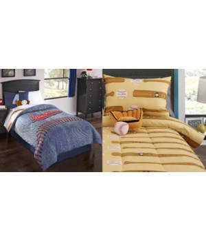 Home Run 5 pc Twin Comforter Set