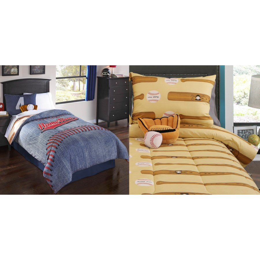 Home Run 6 pc Full Comforter Set