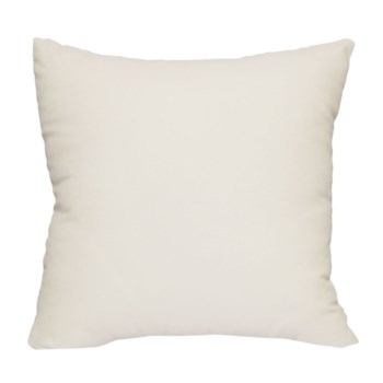 Ivory solid 18x18 Pillow Ivory