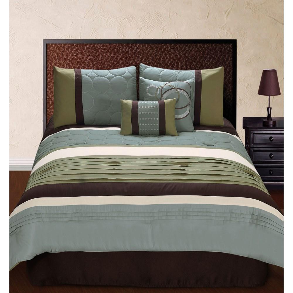 Jackson 6pc Queen Comforter Set