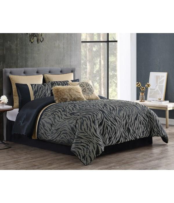 Javan 8PC Queen Comforter Set