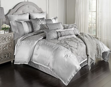 Kadin 12 pc Queen Comforter Set