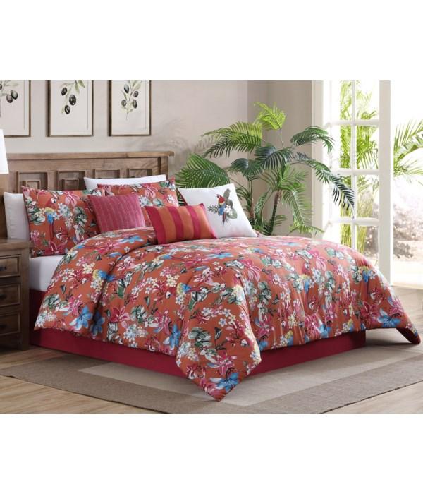 Kaona 7PC Queen Comforter Set