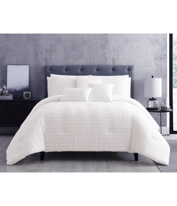 Kentfield 6 pc Queen Comforter Set
