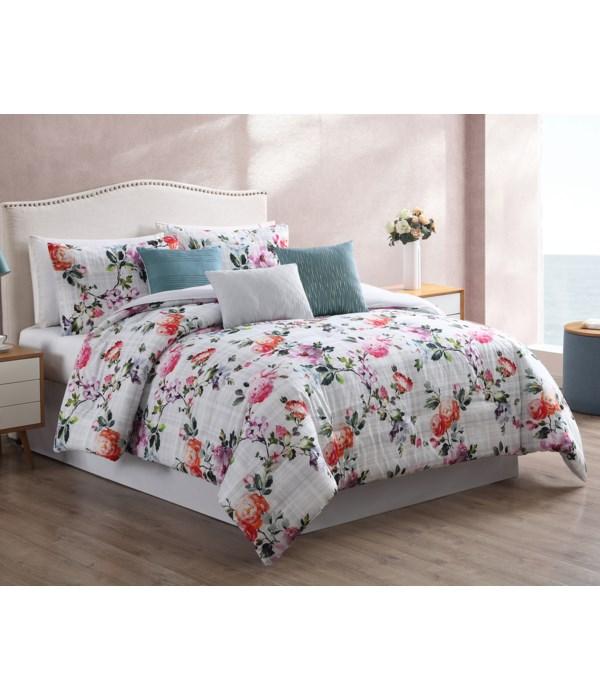 Krissa 7PC Queen Comforter Set