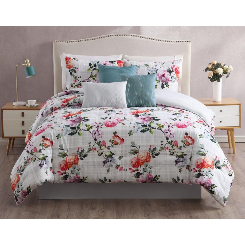 Krissa 7PC King Comforter Set