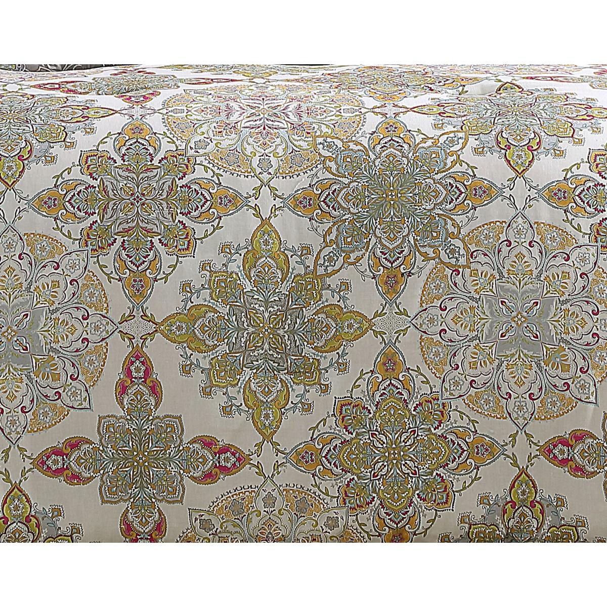 Lanna 7PC King Comforter Set
