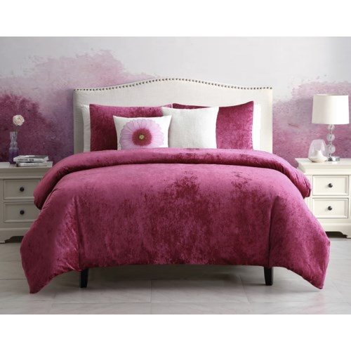 Flower Power- 4PC Twin Comforter Set