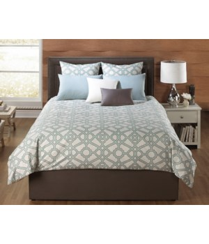 Manton 6 pc Queen Comforter Set