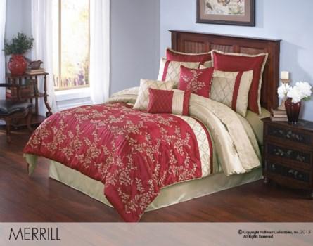 Merrill King 10 pc Comforter Set
