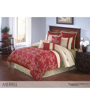 Merrill King 10 pc Comforter Set