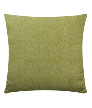 Mod Citron Circles 18x18 Dec Pillow citron
